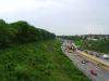 Böschung an der Autobahn